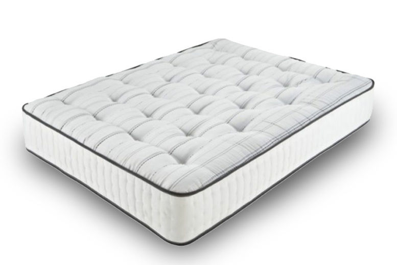Orthopaedic Tufted 1500 Pocket Sprung Memory Foam Mattress