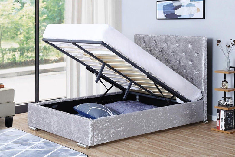 Orlando Ottoman Bed – 4 Options & 2 Colours Available!