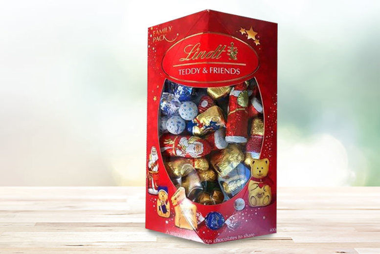 Lindt 400g Family Pack Shop Wowcher
