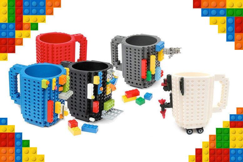 Lego-Compatible Brick Mug | Shop | Wowcher