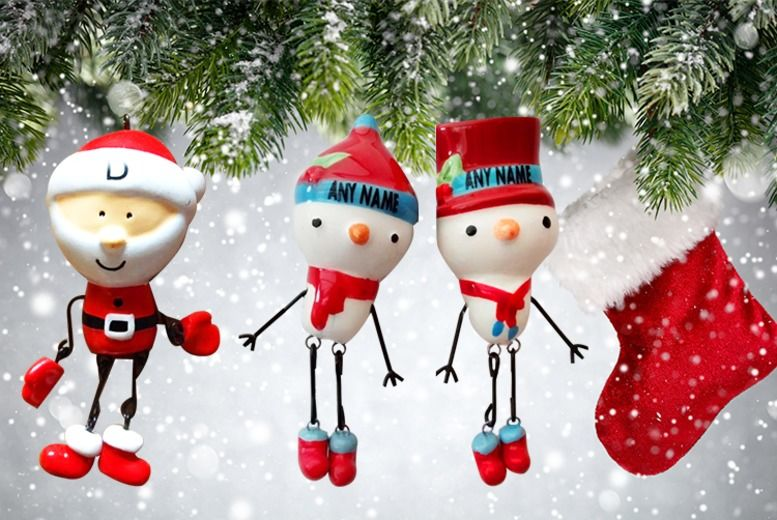 Personalised Xmas Decorations Shop Wowcher