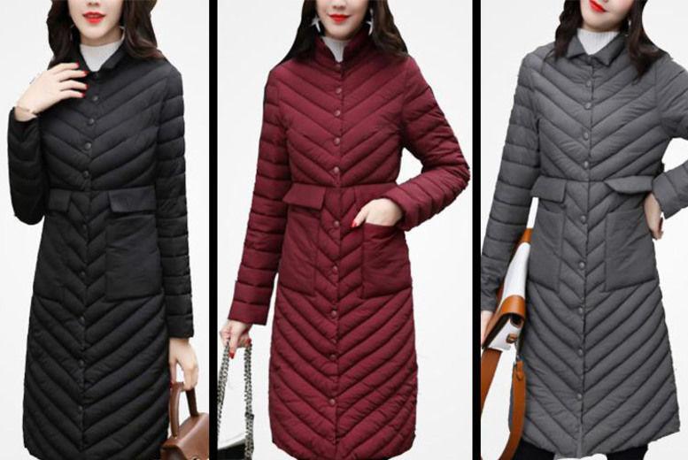 ea318eae851 Shapelle Thin Womens Coat