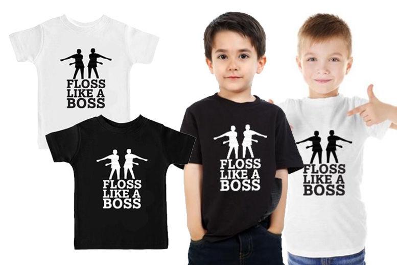 b7121b4c5 Floss Like a Boss T-Shirt   Shop   Wowcher