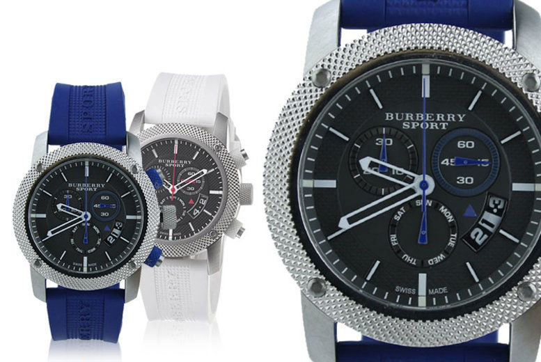 Burberry Swiss-Made Watches - 4 Designs!