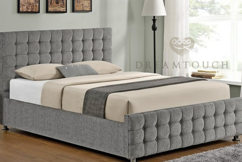 Cambian Fabric Bedstead - 8 Options & 6 Colours!