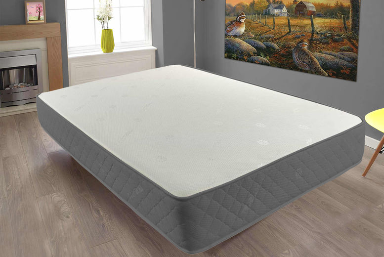 Orthopaedic Hand Tufted Memory Foam Sprung Mattress