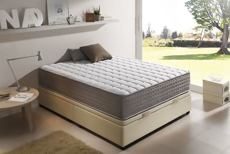 Extra-Thick 13-Zone Gel Memory Foam Mattress - 6 Sizes!