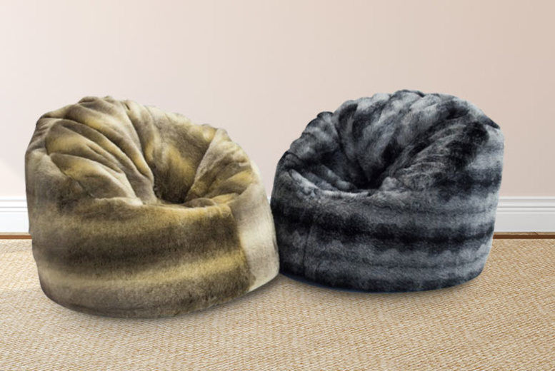 Incredible Faux Fur Wolf Chair Chairs Stools Beanbags Deals In Uwap Interior Chair Design Uwaporg