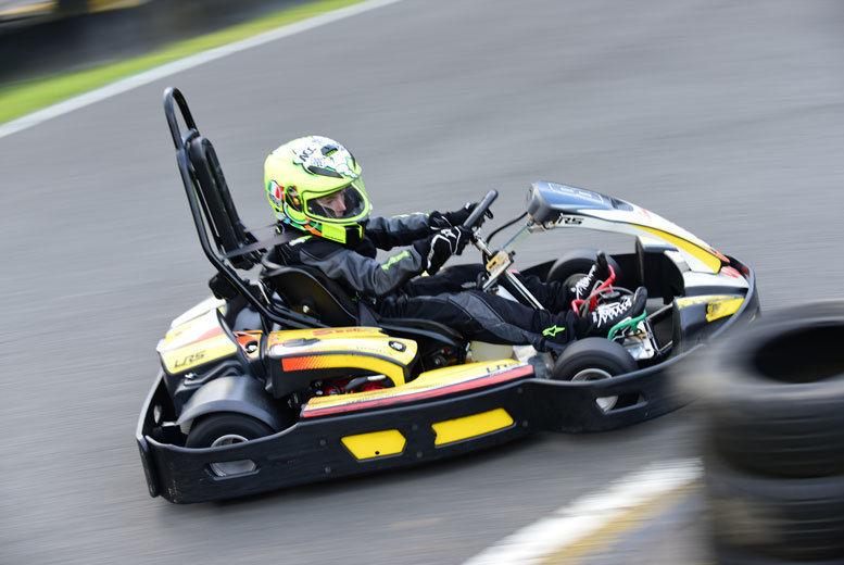 Outdoor Karting Voucher   Edinburgh   Wowcher
