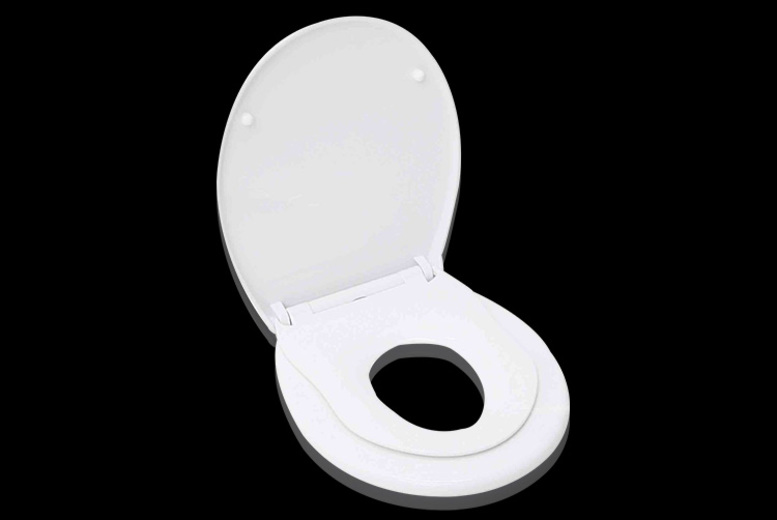 Potty Training Toilet : Toilet seat with fixings shop wowcher