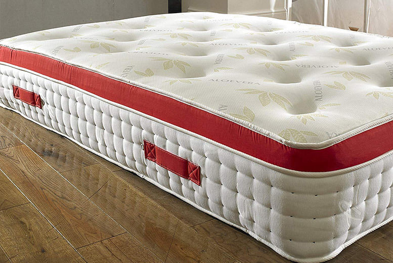 1500 Pocket Spring Pillow Top Memory Mattress