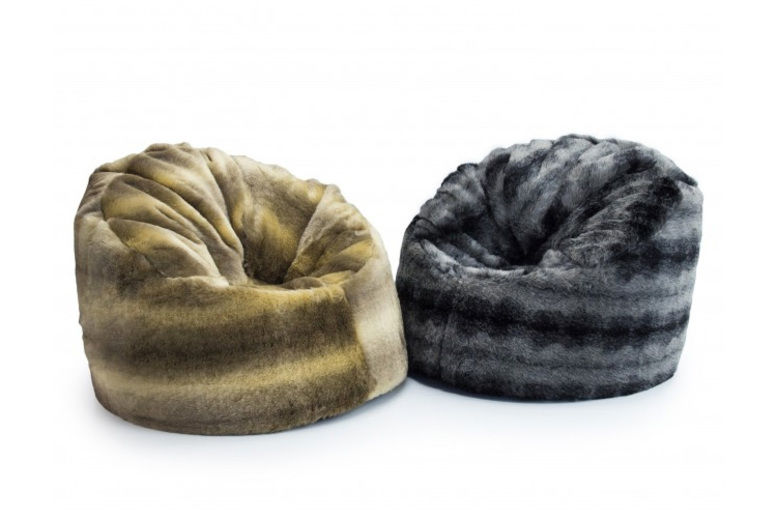 Sensational Faux Fur Wolf Chair Chairs Stools Beanbags Deals In Squirreltailoven Fun Painted Chair Ideas Images Squirreltailovenorg