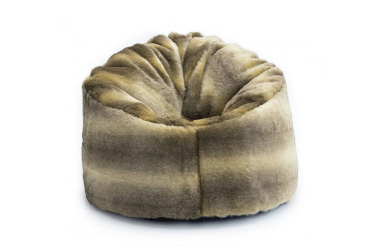 Terrific Faux Fur Wolf Chair Chairs Stools Beanbags Deals In Squirreltailoven Fun Painted Chair Ideas Images Squirreltailovenorg