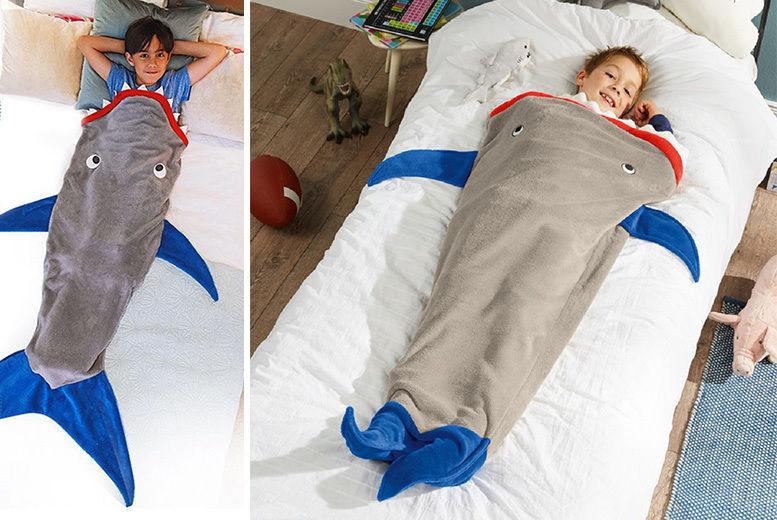 huge discount 7e7aa a3e2b Kids' Shark Sleeping Bag | Shop | Wowcher