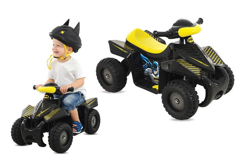 One Size Batman M09355 Mini 6v Quad Ride-On Bike