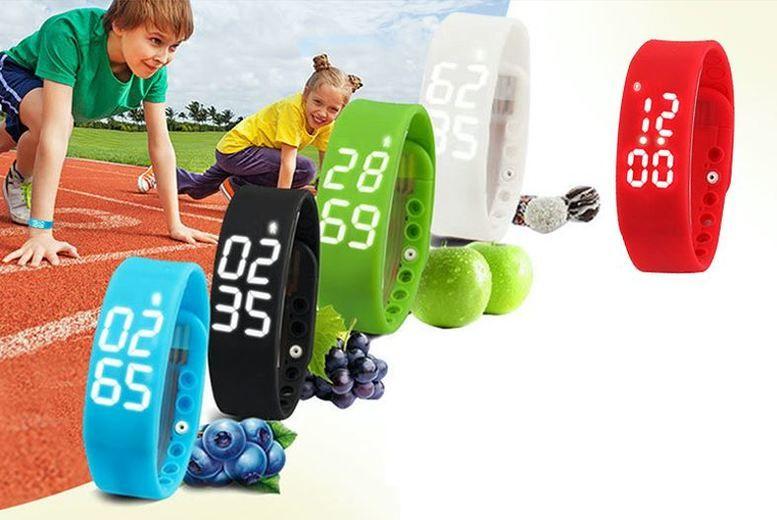 Kids' Smart Fitness Activity Watch - 5 Colours!