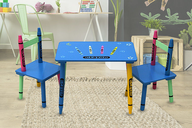 Admirable Childrens Table Chairs Set Toys Deals In Shop Wowcher Ocoug Best Dining Table And Chair Ideas Images Ocougorg